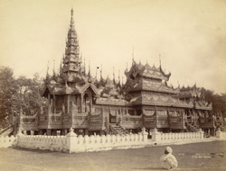 King Thibaw's Kyaung, Mandalay